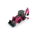 Case pink backhoe 14923