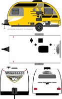 Greenlight 2016 Winnebago yellow 34010d