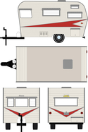 Greenlight 59 Siesta travel trailer 34010b