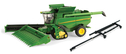 JD S690 tracked combine