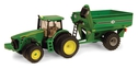 jd 8320 with grain cart  45236